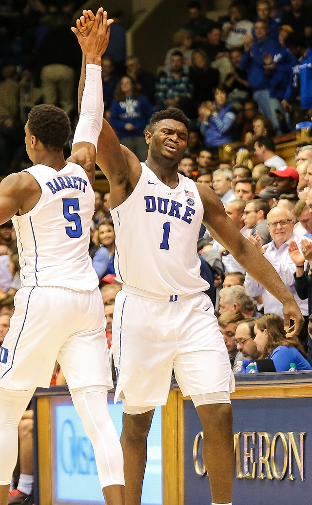 separation shoes 08feb 159c1 Zion Williamson - Wikiwand