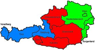 Austrian Regionalliga - Each Regionalligas coverage.