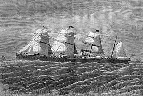image illustrative de l'article Baltic (paquebot de 1871)