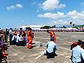 ROCA Dragon Team Crew and ROCAF Pack Men Packing Parachutes after Parachuting 20130601b.jpg