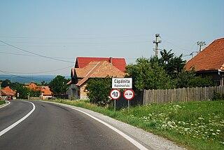 Căpâlnița Commune in Harghita, Romania