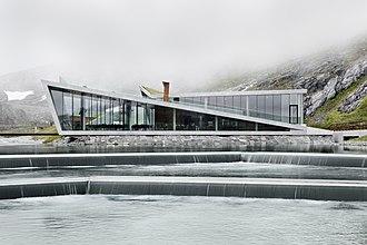 Trollstigen - Visitor centre opened in 2012