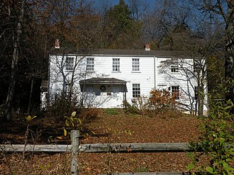 Rachel Carson - Carson's childhood home is now preserved as the Rachel Carson Homestead (photo taken November 7, 2009)