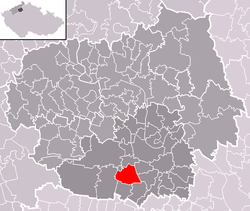 Location of Račiněves