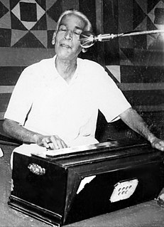 Radhavallabh Chaturvedi Indian Classical Singer and Composer (1917 – 1974)