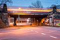 Railroad bridge Am Suedbahnhof Suedstadt Hannover Germany.jpg