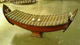 Mor lam - A lanat ék/ranat ék (BGN/PCGN)/ranat ek (RTSG), a xylophone used in some varieties of khap and lam.  The many types of lanat/ranat are also used in classical Lao music.