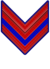 Rank insignia of caporale paracadutista of the Italian Army (1941).png