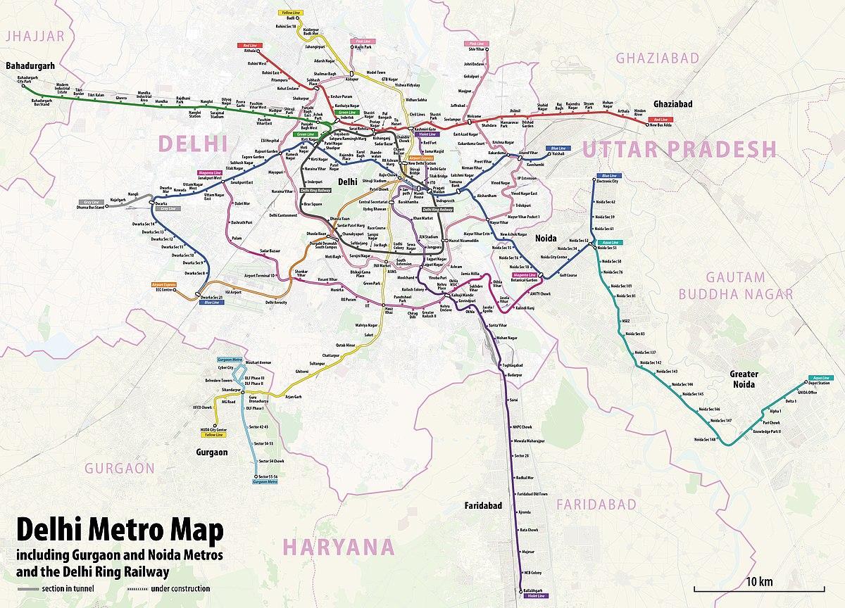 List of Delhi Metro stations - Wikipedia