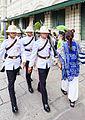 Regimiento Primero de Infantería de la Guardia Real, Gran Palacio, Bangkok, Tailandia, 2013-08-22, DD 01.JPG