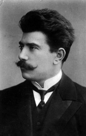 Sergei Prokofiev - Composer Reinhold Glière, Prokofiev's first composition teacher.