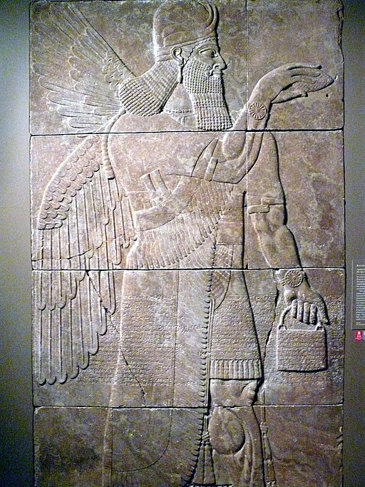 Relief with Winged Genius
