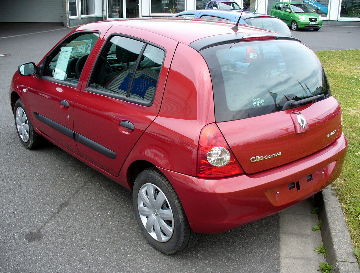 File Renault Clio Ii Phase Iv Campus 1 2 Funfturer Heck Jpg Wikimedia Commons