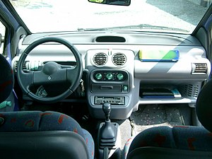 Renault Twingo - Interior of the 1993–1998 Twingo I