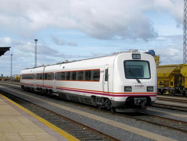 Renfe Class 594 reformado