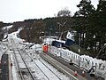 Repair work following the derailment at Carrbridge Station - geograph.org.uk - 1660684.jpg
