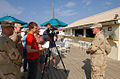 Reporters tour an enlisted personnel's bar at Guantanamo.jpg