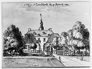 Van Heeckeren - Image: Reproductie van tekening door J.de Beyer Laren 20129075 RCE