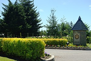 The Reserve Vineyards and Golf Club - Entrance in 2009