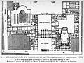 Rez-de-chaussée du Palais-Royal en 1780, plan reconstitué par Fontaine 1829 - Espezel 1936 p121.jpg