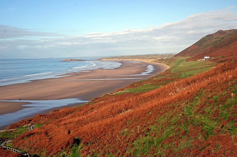 Three Cliffs Bay And Rhossili Bay Tour
