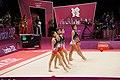 Rhythmic gymnastics at the 2012 Summer Olympics (7915598156).jpg