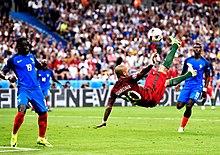 Quaresma performs a bicycle kick against France at Euro 2016 1e7b6aeaf53c8