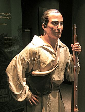 Paris Mountain State Park - Life-sized representation of Richard Pearis at the Upcountry History Museum, Greenville, South Carolina