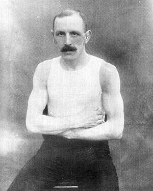 Richard Gunn (boxer) - Gunn at 1908 Olympics in London