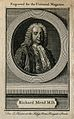 Richard Mead. Line engraving after A. Ramsay. Wellcome V0003956EL.jpg