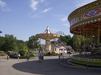 Lightwater Valley - Image: Rides near entrance of Light Water Valley