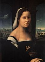 "Ridolfo del Ghirlandaio - Portrait of a Woman, called ""The Nun"" - WGA08928.jpg"