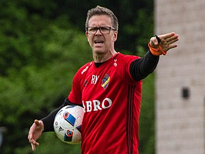 Rikard Norling - Norling on the training pitch (2016)