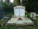 Rino Platoni RAF grave St Pancras and Islington Cemetery.JPG