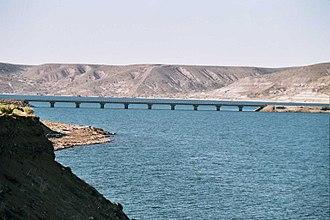 Collón Curá River - Bridge over the Collón Curá River