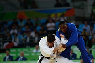 Mozambique at the 2016 Summer Olympics - Marlon Acácio (right) vs Victor Penalber