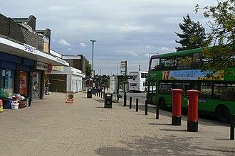 Rise Park, Nottingham - Image: Rise Park bus terminus geograph.org.uk 2004852