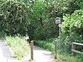River Eden footpath entrance - geograph.org.uk - 837050.jpg