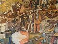 Rivera Mural Palacio Nacional Mexico from Conquer to Present Detail Canon.JPG