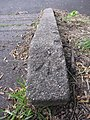 Rivet bench mark on steps through The Holms - geograph.org.uk - 1524777.jpg