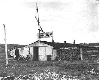 Cape Nome - Cape Nome roadhouse, 1901