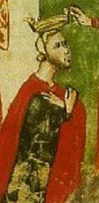 Robert Guiscard - Robert Guiscard, from the 14th-century manuscript Nuova Cronica