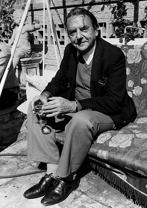 Robin Maugham - Lord Maugham in 1974, by Allan Warren