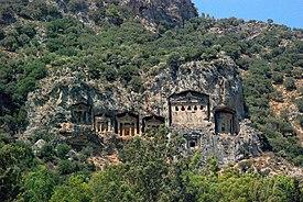 Ликийские скальные гробницы Дальяна