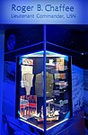 Roger B. Chaffee memorial - Kennedy Space Center - Cape Canaveral, Florida - DSC02848.jpg