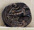 Roma, repubblica, denario anonimo, 157-156 ac..JPG