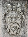 Roman Carving outside Church of St. Donat - Zadar - Croatia.jpg