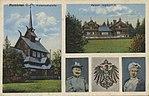 Rominten, Ostpreußen - Hubertuskapelle; Kaiserl. Jagdschloss (Zeno Ansichtskarten).jpg