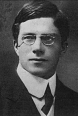 Leonard Darwin - Ronald Fisher in 1912