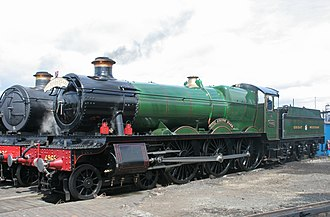 Tyseley Locomotive Works - Image: Rood Ashton Hall 4965 Tyseley (2)